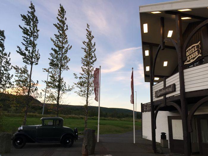 Hotel Geysir in Iceland
