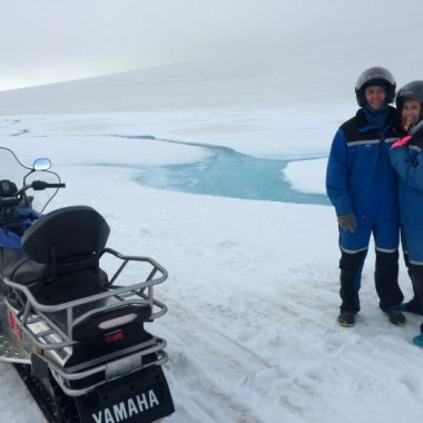 Driving the Golden Circle and Snowmobiling in Iceland