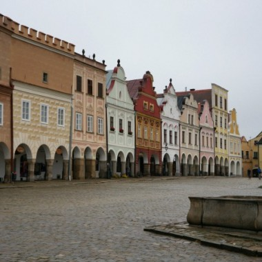 Welcome to the Fairytale town of Telč
