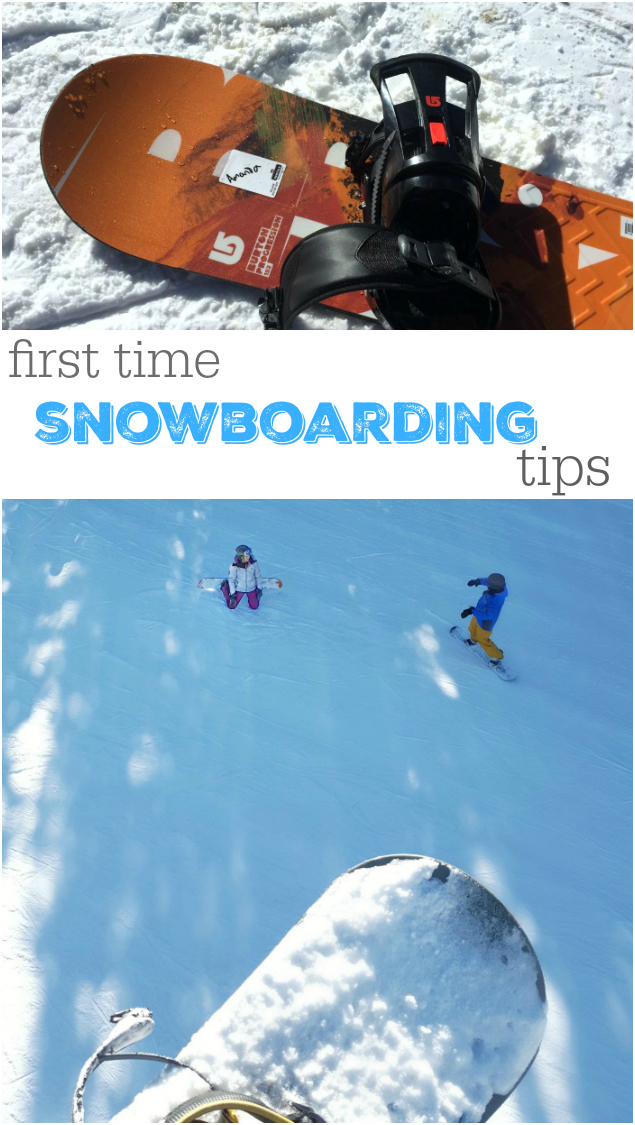 What I wish I'd known before snowboarding the first time