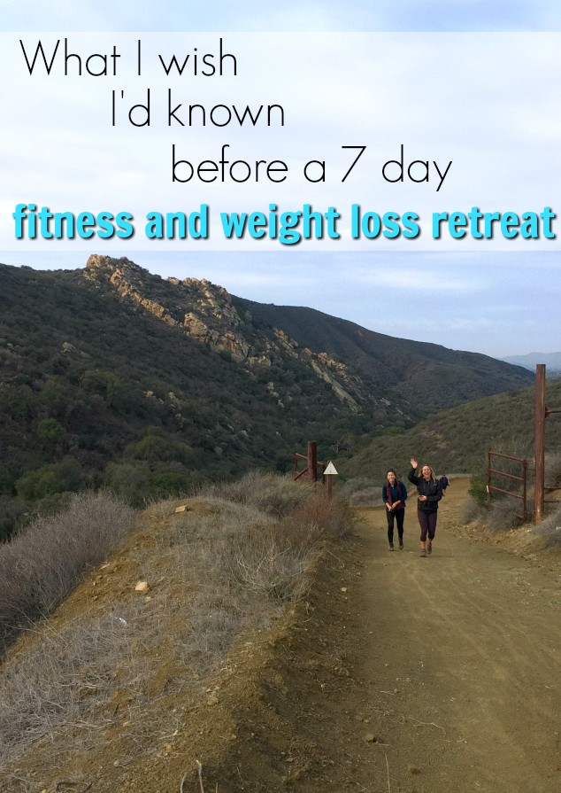 What to expect from a 7 day fitness and weight loss retreat - sharing all the details of my experience at what used to be The Biggest Loser Resort